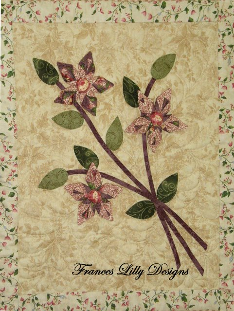 Winter Blooms block